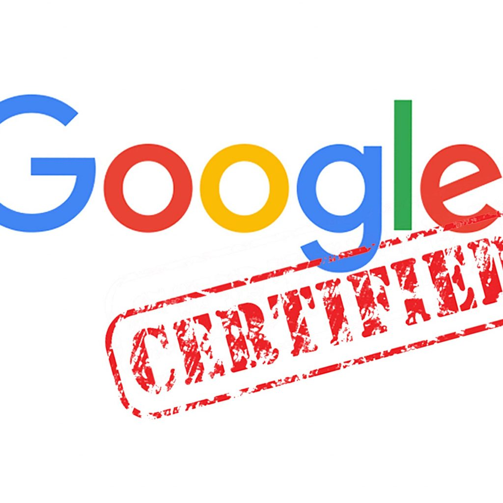 Google Certified ad agency